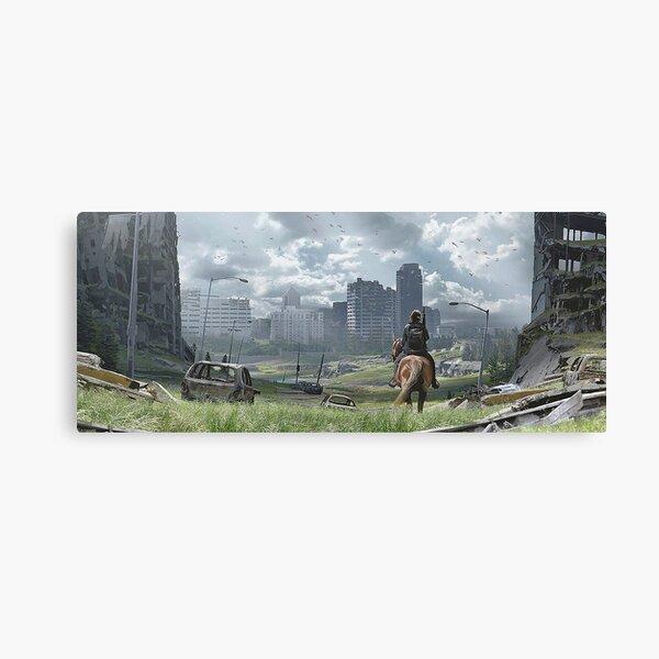 The Last Of Us Part II - Ellie à cheval Impression sur toile