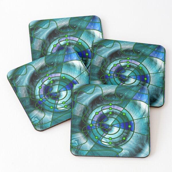 Element 11: Sodium Coasters (Set of 4)