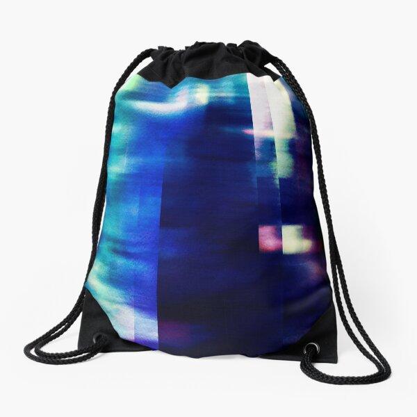 let's hear it for the vague blur Drawstring Bag