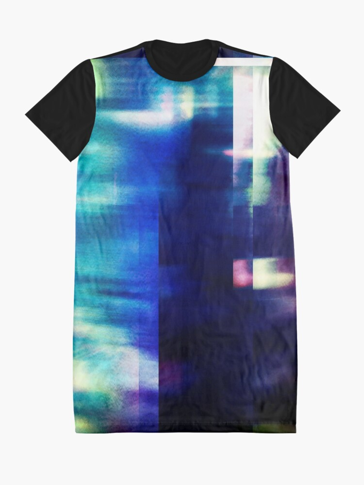 Alternate view of let's hear it for the vague blur Graphic T-Shirt Dress