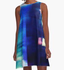 let's hear it for the vague blur A-Line Dress