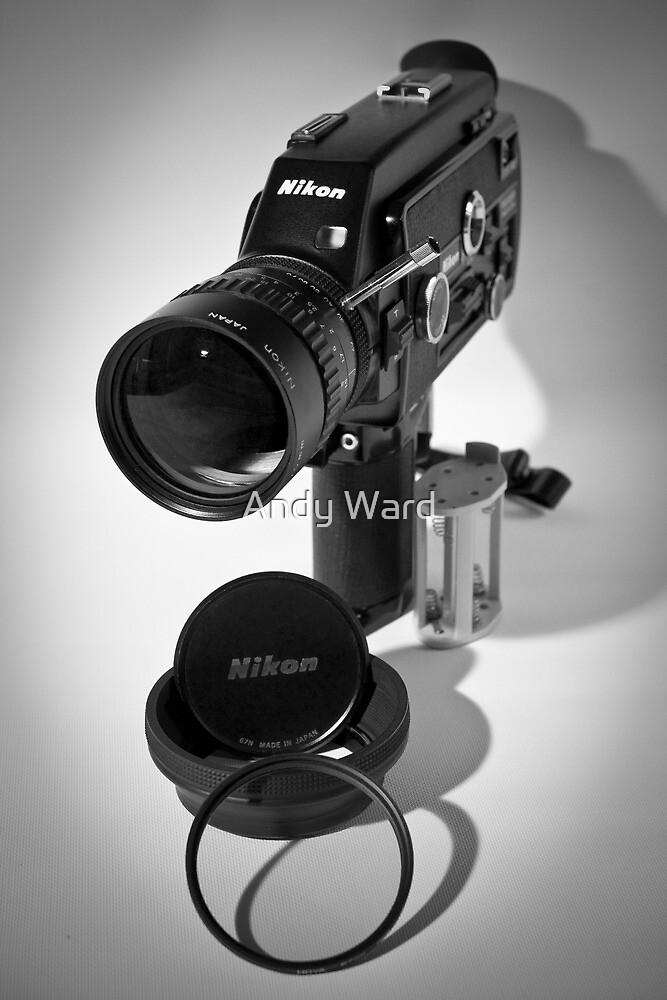 Nikon R10 super 8mm cine camera circa 1971 by harper white