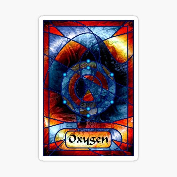 Element 8: Oxygen Sticker