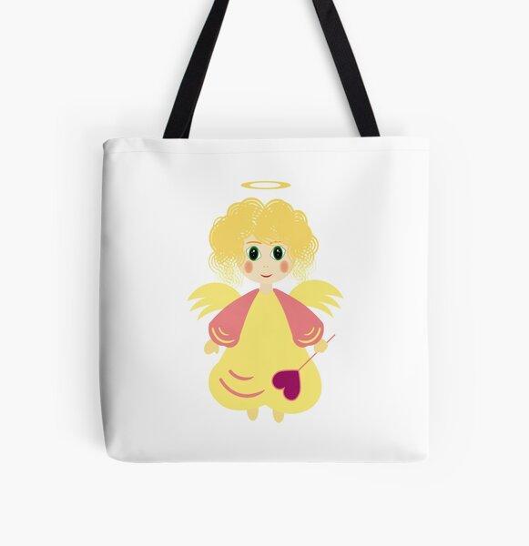 Angel7 All Over Print Tote Bag