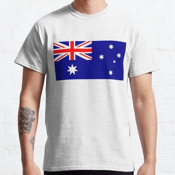 Australian Flag Patriotic Australia Ozzy Aussie Boys Unisex Kids Child T Shirt