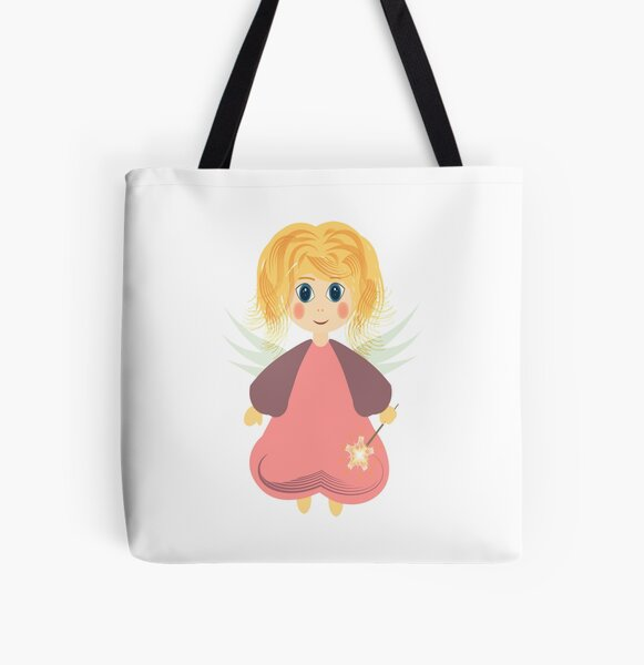 Angel8 All Over Print Tote Bag