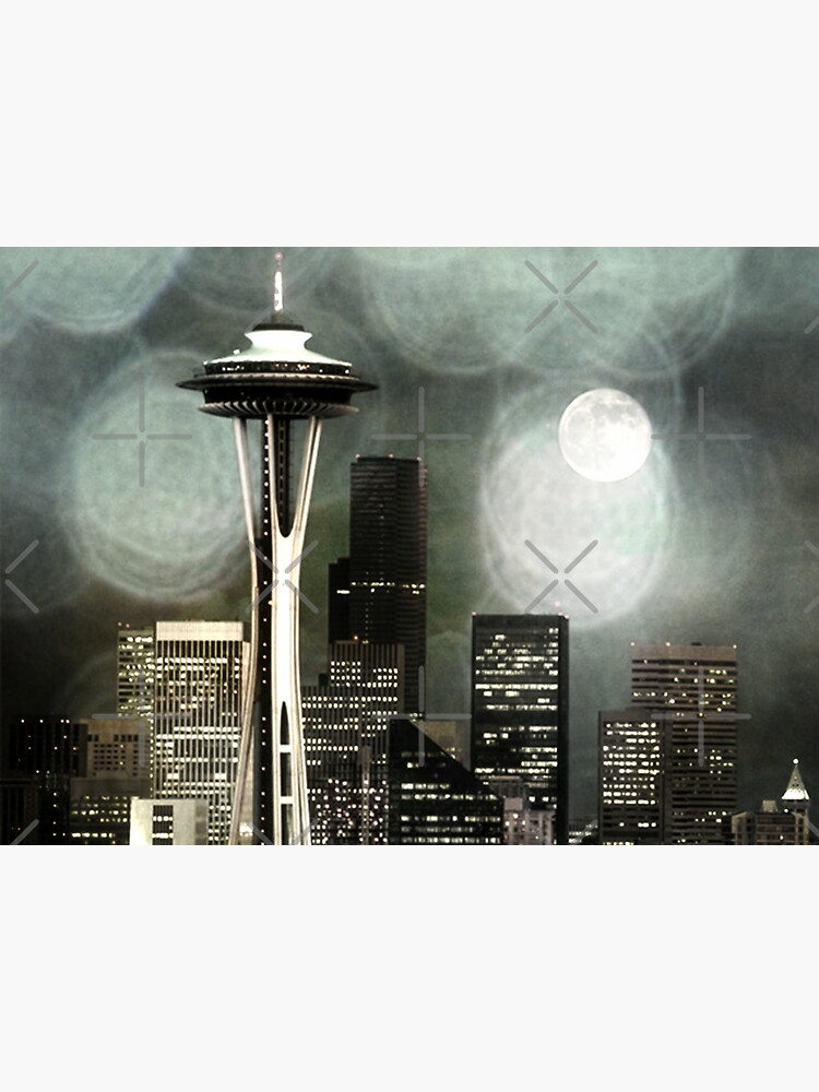 Fifty Shades of Grey Space Needle by stine1