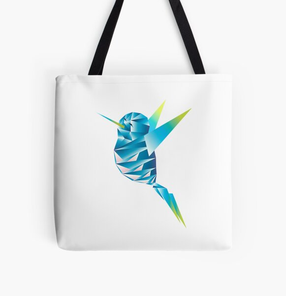 Bird2 All Over Print Tote Bag