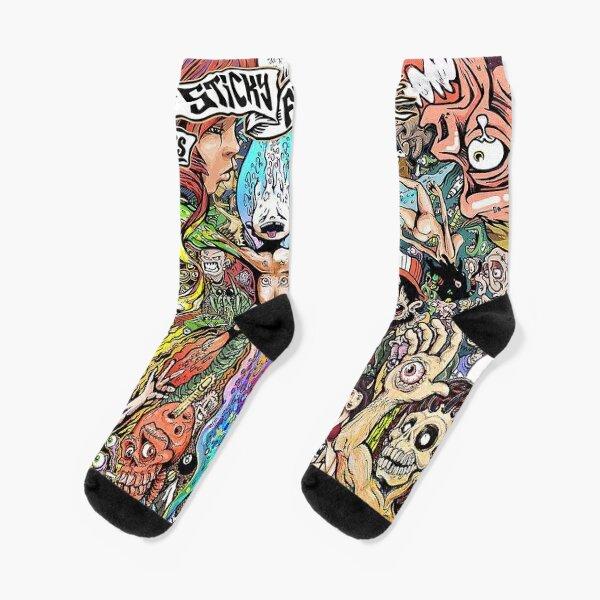 Sticky Fingers caress your soul Socks