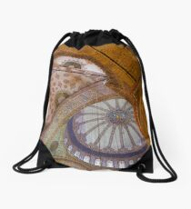 Blue Mosque, Istanbul Drawstring Bag