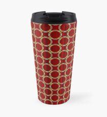 Decorative circles,satin Travel Mug