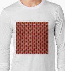 Decorative circles,satin Long Sleeve T-Shirt