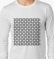 Circles,simple design Long Sleeve T-Shirt