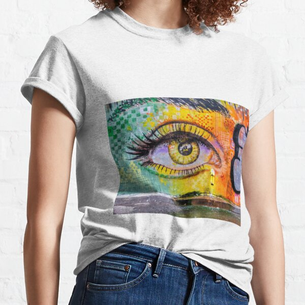 Passion for graffiti, anonymous urban art, beautiful colors, spray cans colors. Classic T-Shirt