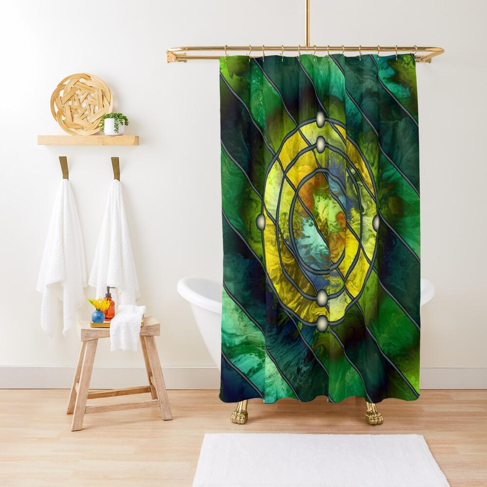 Element 6: Carbon Shower Curtain