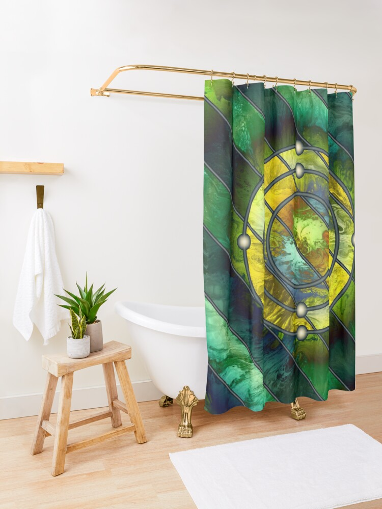 Alternate view of Element 6: Carbon Shower Curtain