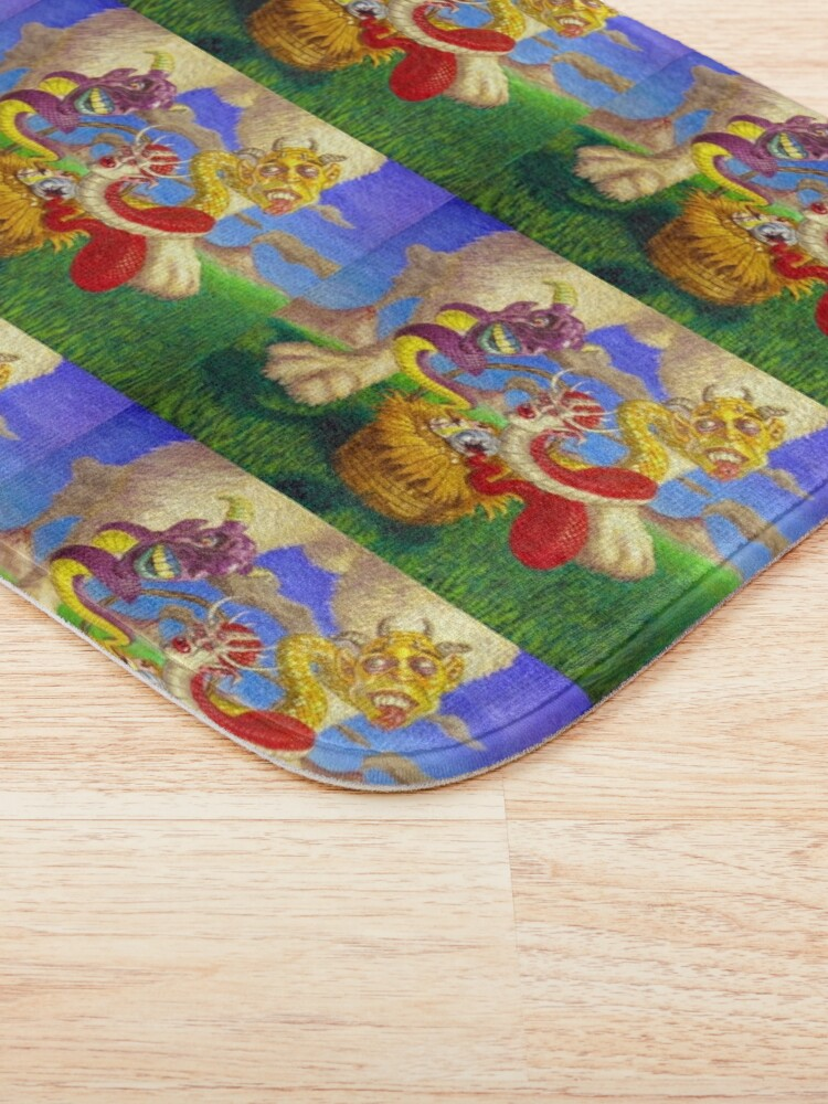 Alternate view of Easter in Gorgon Valley Bath Mat
