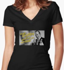 Breaking Bad - Better Call Saul Women's Fitted V-Neck T-Shirt