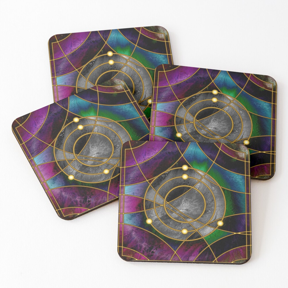 Element 5: Boron Coasters (Set of 4)