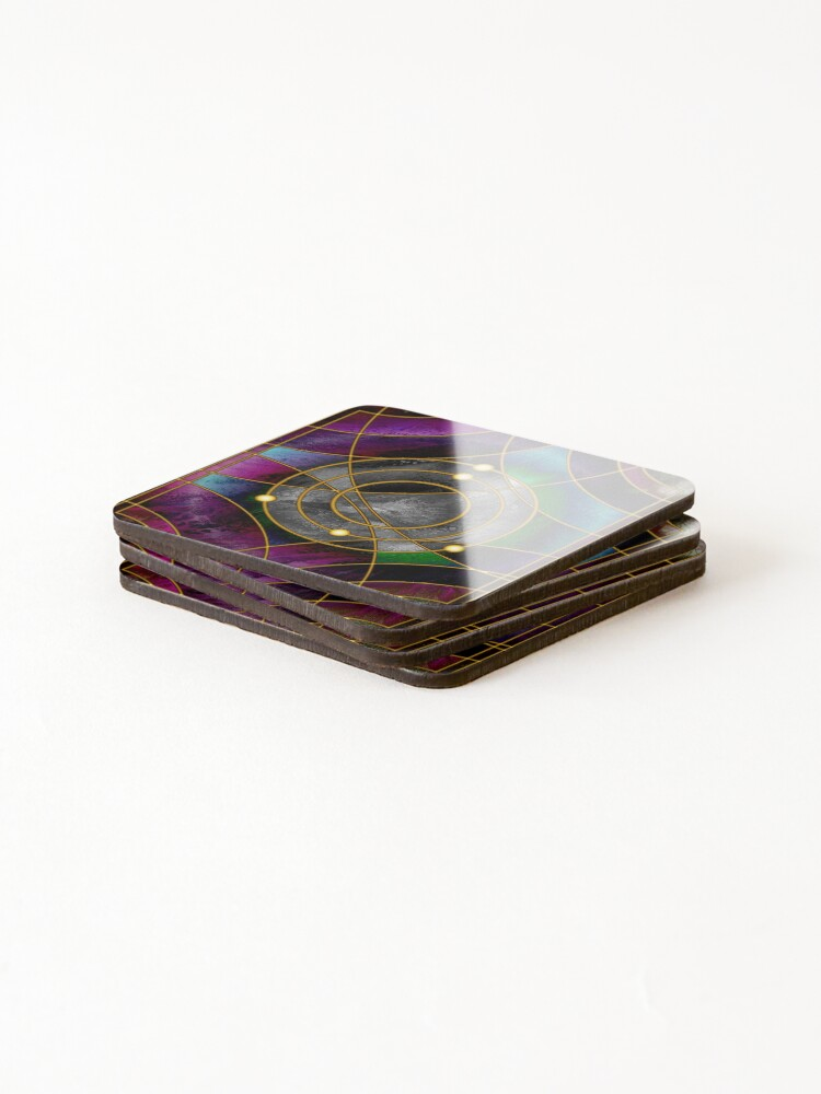 Alternate view of Element 5: Boron Coasters (Set of 4)