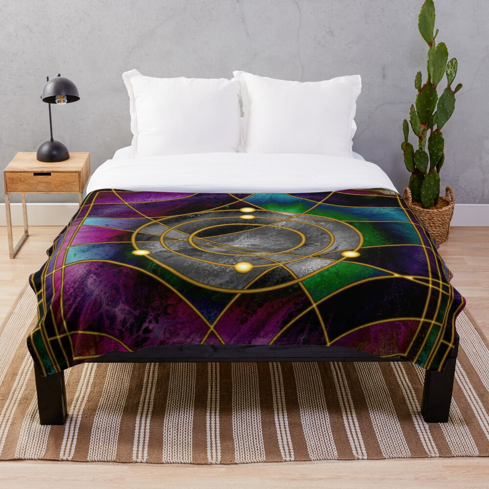 Element 5: Boron Throw Blanket