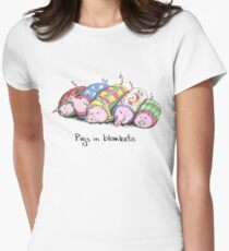 Pigs in Blankets Women's Fitted T-Shirt