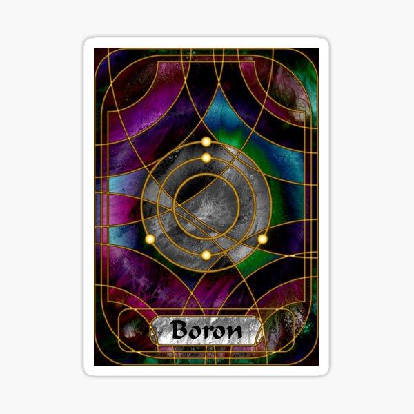 Element 5: Boron Sticker