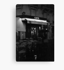 Paris By Night Leinwanddruck