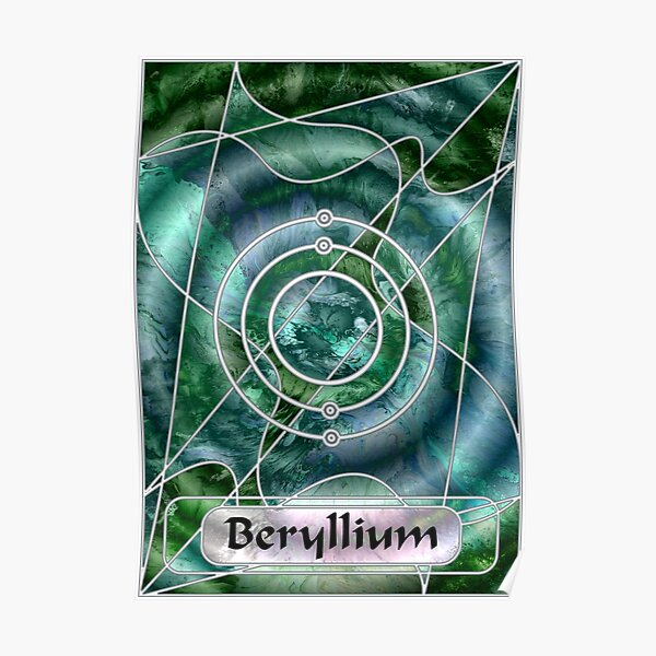 Element 4: Beryllium Poster