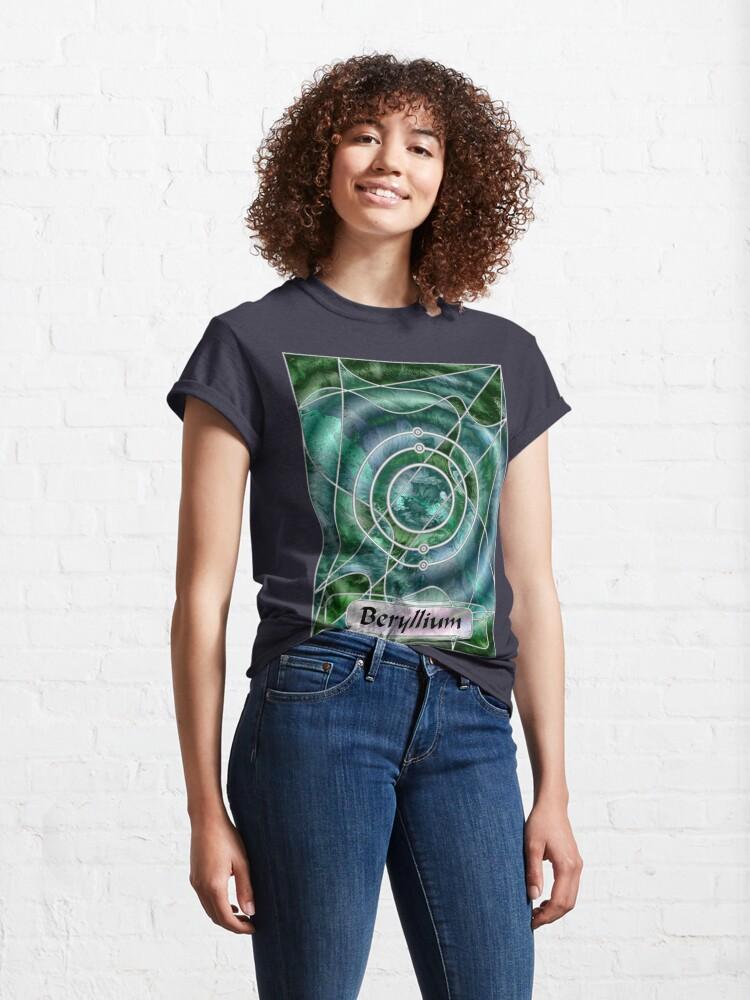 Alternate view of Element 4: Beryllium Classic T-Shirt