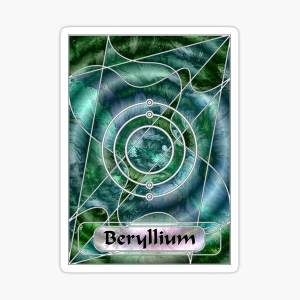 Element 4: Beryllium Sticker