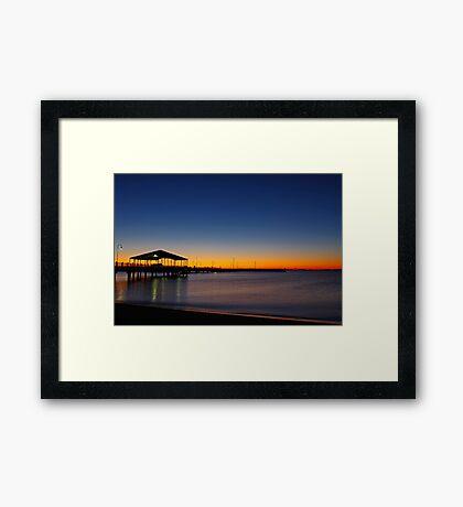 Redcliffe Sunrise Framed Print
