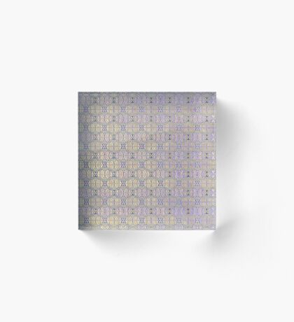 Pattern #14 Acrylic Block