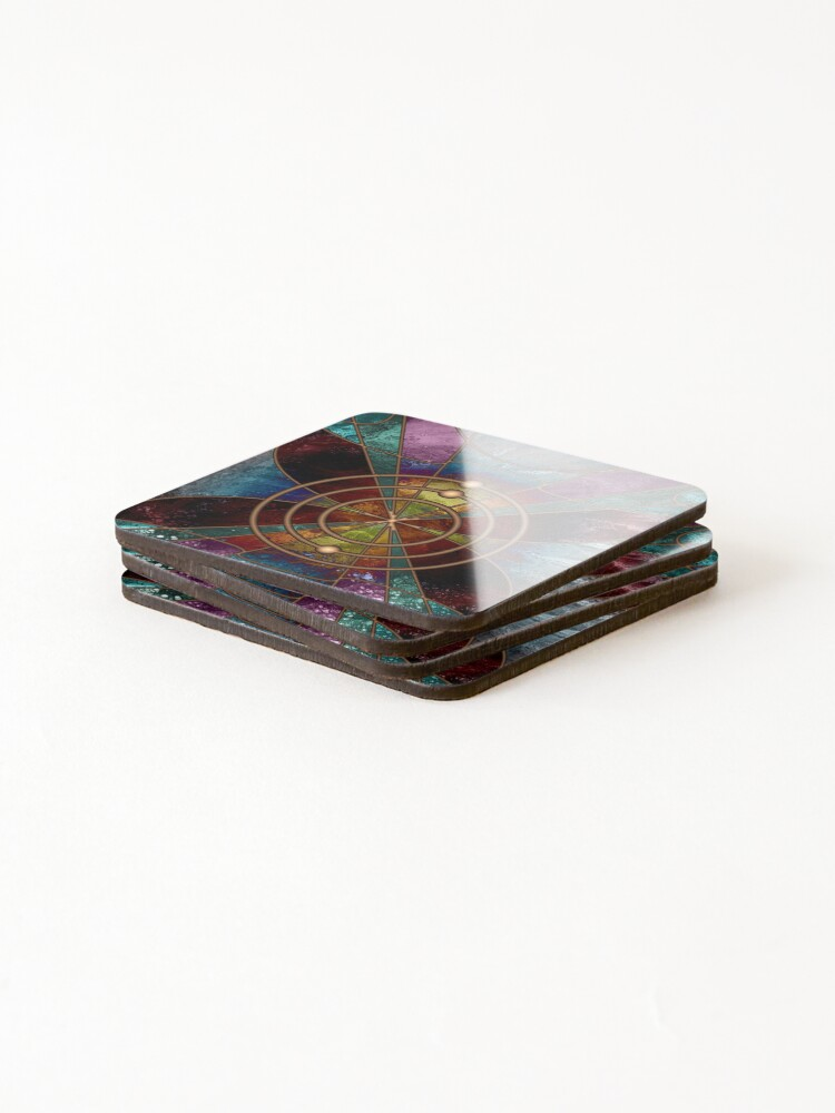 Alternate view of Element 3: Lithium Coasters (Set of 4)