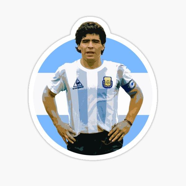 Maradona - The Argentinian Legend Sticker