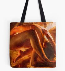 Born in fire Tote Bag