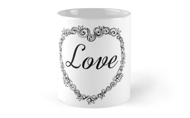Love Text by Irenuccia