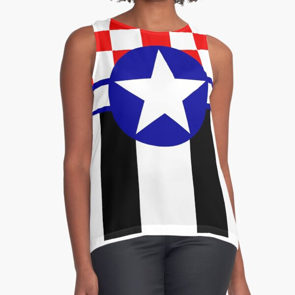 Mustang in the Sky Sleeveless Top