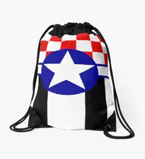 Mustang in the Sky Drawstring Bag