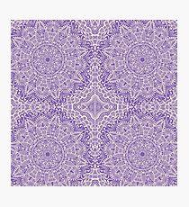 Lámina fotográfica Mandalas púrpuras