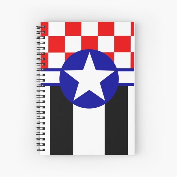 Mustang in the Sky Spiral Notebook