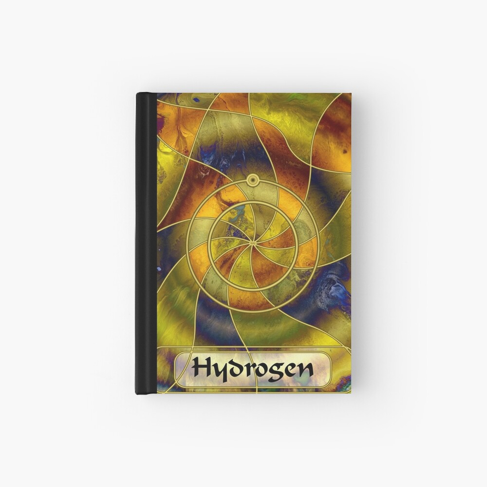 Element 1: Hydrogen Hardcover Journal
