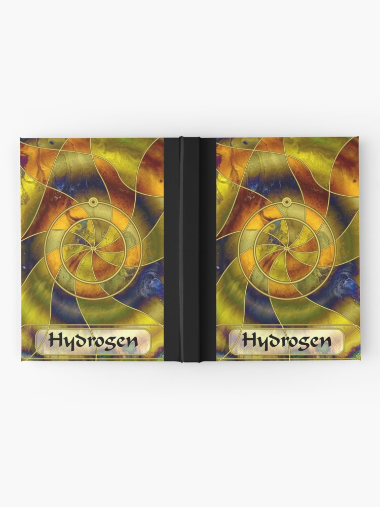Alternate view of Element 1: Hydrogen Hardcover Journal