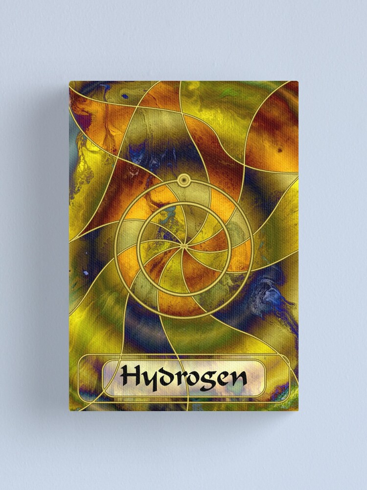 Alternate view of Element 1: Hydrogen Canvas Print