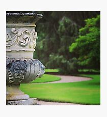 formal garden Photographic Print