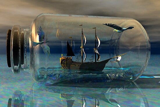 Journey on the Neverending Seas by plunder