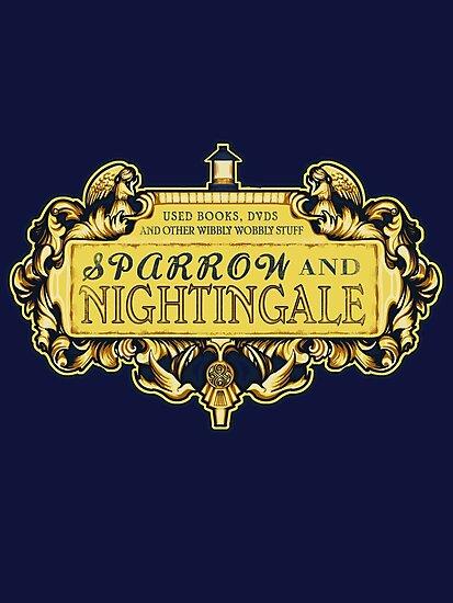 Sparrow & Nightingale  by MeganLara