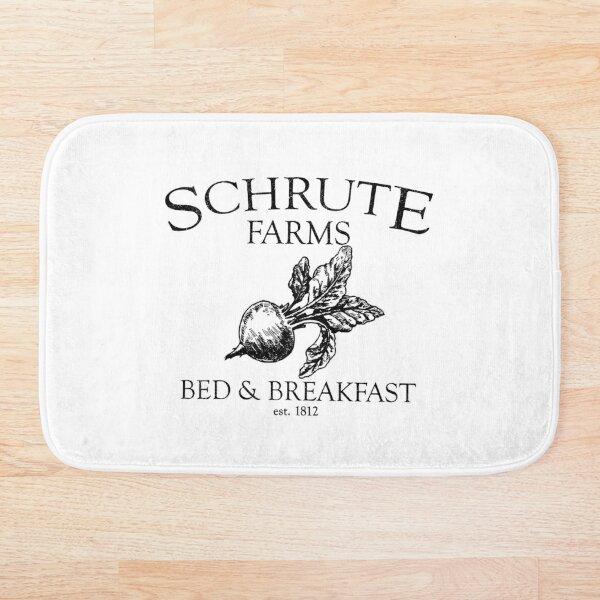 Schrute Farms Funny Office  Bath Mat
