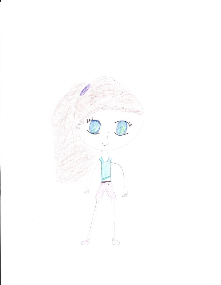 shy girl by cherry101