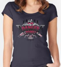 Danger Zone! Women's Fitted Scoop T-Shirt